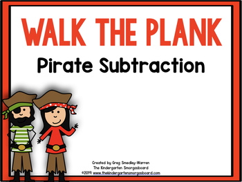 Walk The Plank!  A Common Core Subtraction Creation!