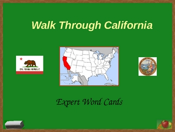 Walk Through California; Pictures for Expert Word Cards