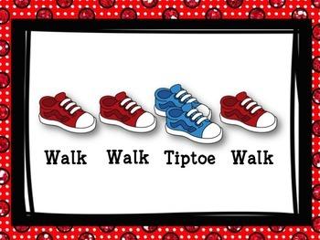 Walk & Tiptoe - Movement for ta & ti-ti