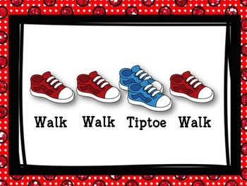 Walk & Tiptoe - Movement for ta & ti-ti