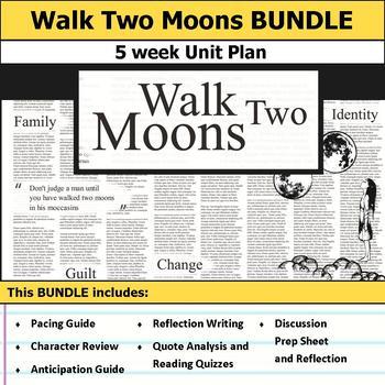 walk two moons teaching resources teachers pay teachers walk two moons unit bundle walk two moons unit bundle