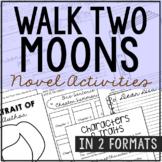 Walk Two Moons Novel Study Unit Activities, In 2 Formats