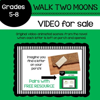 Walk Two Moons Letters VIDEO