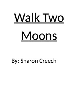 Walk Two Moons Novel Information