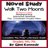 Walk Two Moons Novel Study & Enrichment Project Menu