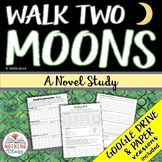 Walk Two Moons Novel Study Unit: comprehension, vocabulary, activities, tests