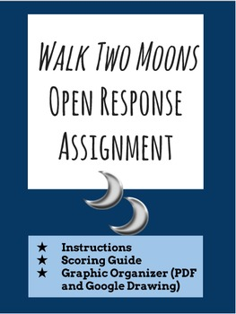 Walk Two Moons Post-Reading Open Response