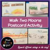 Walk Two Moons Postcard Activity