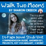 Walk Two Moons Novel Unit