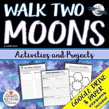 Walk Two Moons: Reading Response Activities and Projects