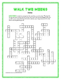 Walk Two Moons: Simile Crossword—Clues Are Similes from the Book! Unique!