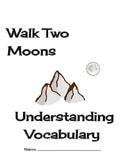 Walk Two Moons Understanding Vocabulary