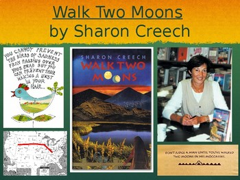 Walk Two Moons Unit PPT