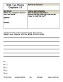 Walk Two Moons by Sharon Creech Print and Go Novel Study