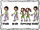 Walk and Running Rhythm Cards {Freebie}