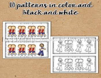 Walk and Running Rhythm Pattern Flashcards