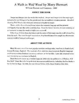 Walk in Wolf Wood Literature Guide
