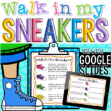 Walk in my sneakers empathy activity; Social emotional learning, social skills