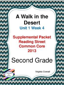Walk in the Desert:  Second Grade Reading Street Supplemental Packet