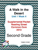Walk in the Desert:  Second Grade Reading Street Supplemental Packet