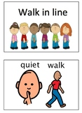 Walk in the Hall Autism Visuals