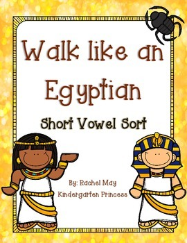 Walk like an Egyptian: Short Vowel Sort