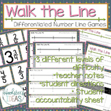 Walk the Line: Differentiated Number Line Games