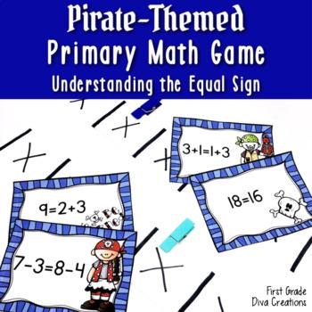 """Walk the Plank!"" A  Pirate Common Core Aligned Math Center"