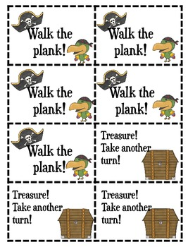Walk the Plank: A Pirate-Themed Short A Word Family Game