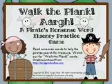 Walk the Plank! Aargh! A Pirate's Nonsense Word Fluency Practice Game