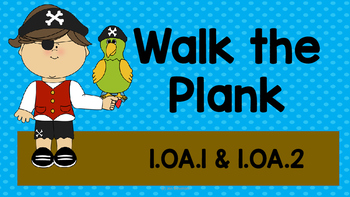Walk the Plank - Addition within 20 - 1.OA.1
