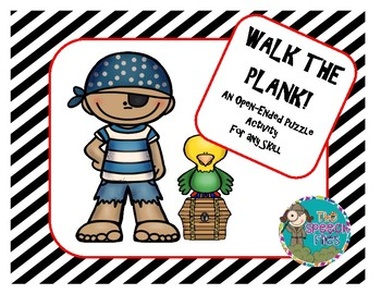 Walk the Plank - An Open-Ended Activity for Speech Therapy