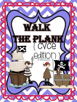 Walk the Plank! { CVCE Edition } Phonics Game
