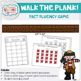 Walk the Plank - Fact Fluency Game