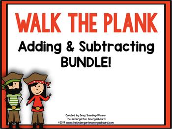 Pirate Addition & Subtraction BUNDLE!