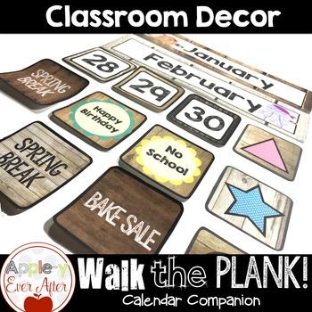 Walk the Plank Series - Pirate Calendar Companion
