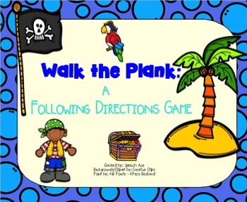 Walk the Plank: a Following Directions Game