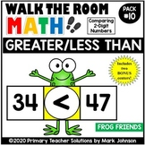 Walk the Room Math Pack 10: Greater Than & Less Than: Comp