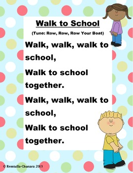 Walk to School Poem