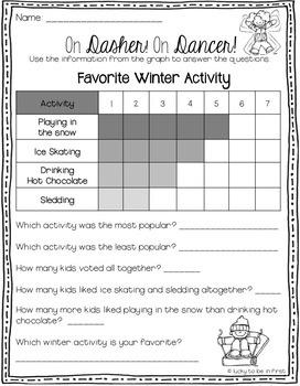 Winter Worksheet Bonus