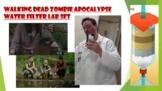 Walking Dead Zombie Apocalypse Water Filter Lab set.