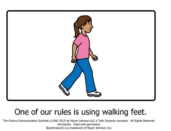 walking feet at school social story by becky n tpt