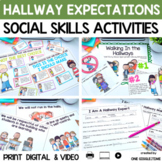 Walking In the Hallways (A Social Story About Appropriate Hallway Behaviors)