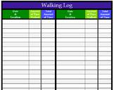 Walking Log - Physical Education