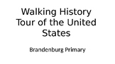 Walking/Running United States Tour of Historical Places