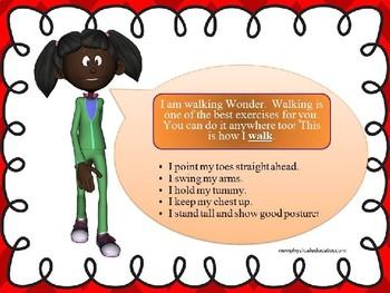 Walking Skill Cue Card