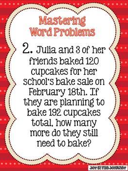 Walking Through Word Problems: Step-by-Step Strategies