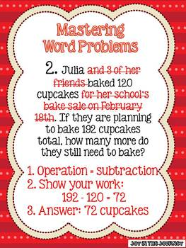 Walking Through Word Problems: Step-by-Step Strategies
