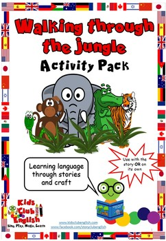 Walking Through the Jungle - Activity Pack - Learn English through Craft