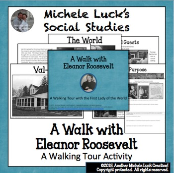 Walking Tour with Eleanor Roosevelt U.S. History Centers Activity UN & FDR